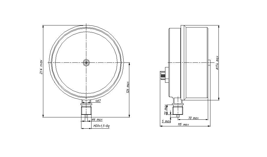ДМ5012Сг - схема подключения