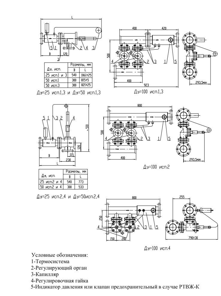 Примеры схем установки