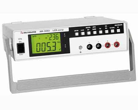Измеритель RLC стационарный АМ-3002.  Измеритель сопротивления изоляции - измерение сопротивления изоляции постоянным...