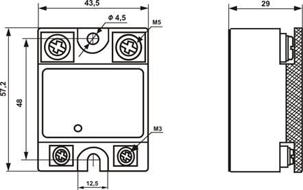 Твердотельное реле (ТТР) - это современное полупроводниковое устройство, которое предназначено для бесконтактной...