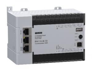 ОВЕН ПЛК110-30-ТЛ [М02] контроллер для диспетчеризации и телемеханики